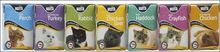 Кошачий корм Бозита